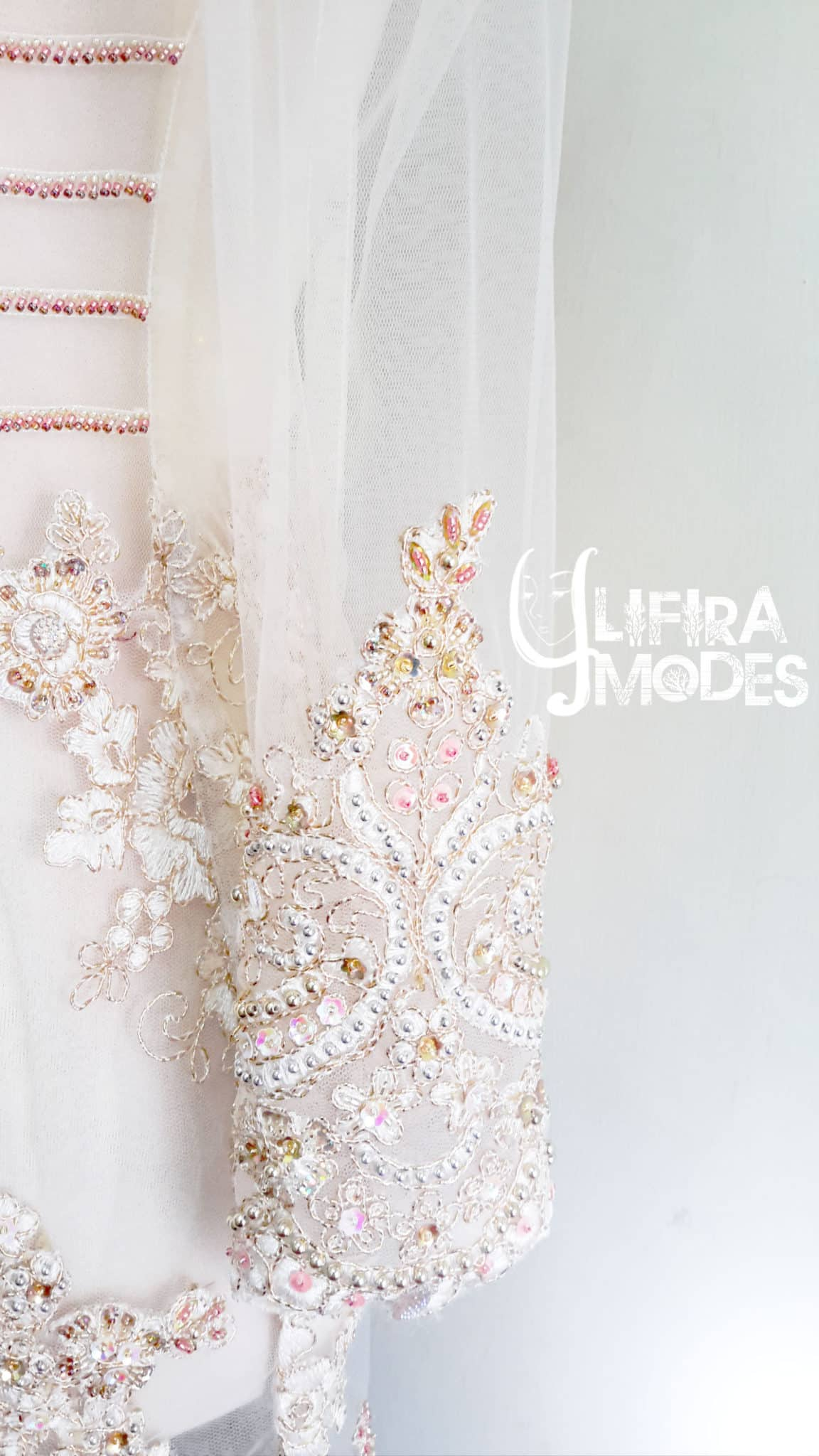 The Holy White Bridal Kebaya by Lifira Modes, Penjahit Wanita Malang