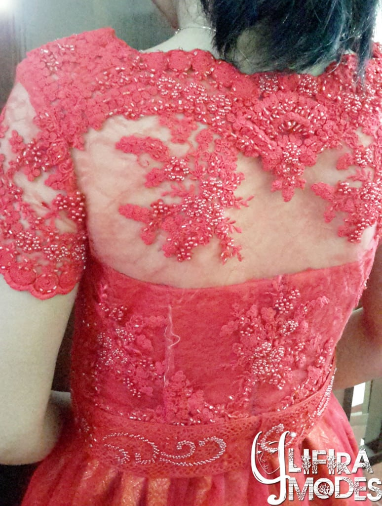 Bravery Red Wedding Gown by LIFIRA Modes (1), Penjahit Wanita Malang