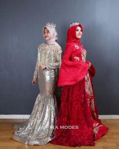 Penjahit Gaun Pesta Hijab Lifira Malang
